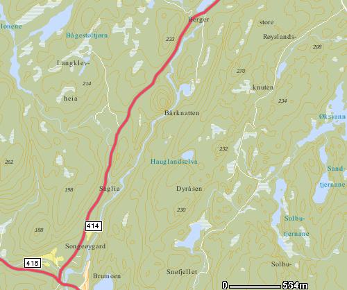 kart over åmli